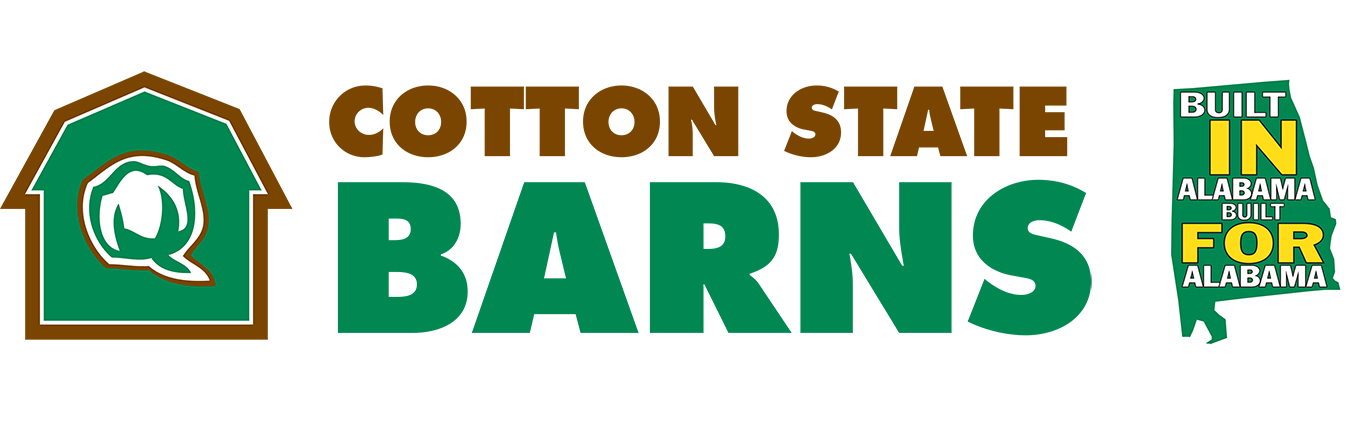 Cotton State Barns | Built IN Alabama, FOR Alabama!
